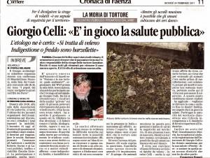 Giorgio Celli - La Moria di Tortore